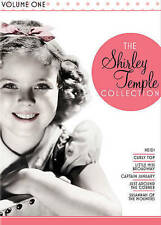 Shirley Temple Collection Vol 1 Heidi Curly Top Little Miss Broadway +3 New DVD