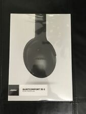 Bose QuietComfort 35 II 2nd Generation Factory Sealed Black New In Box
