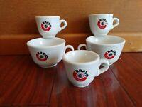 5 BRAVO SYSTEMS INTERNATIONAL COFFEE CUPS ITALY ESPRESSO CAFFE  CAPPUCCINO