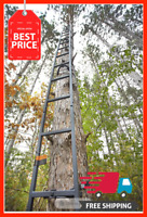 20 Ft. Tree Stand Ladder Deer Outdoor Bow Hunting Climbing Stick