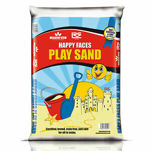 20KG Play Sand Childrens Kids Toy Pit Non Toxic & Staining Safe Clean Playsand B