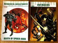 Ultimate Comics Avengers lot x2: Death of Spiderman & Blade Vs. Avengers TPB