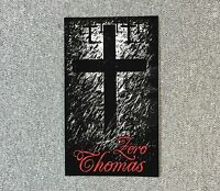 ZERO Thomas Cross Skateboard Sticker 4.25in si