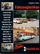 Fahrzeuglexikon Framo V Barkas B1000 Modelle Typen Baureihen Geschichte Buch
