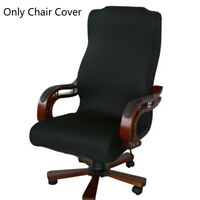 SML Office Computer Chair Cover Spandex Stretch Rotate Seat Antimacassar