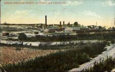 New Castle PA Lehigh Portland Cement Co c1910 Postcard