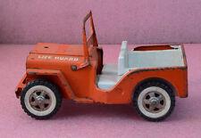 Vintage Tonka Life Guard Jeep.