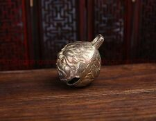 Beautiful brass sculpture tiger bells loud animal