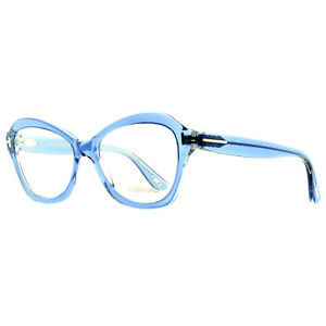 Tom Ford FT5359 086 Clear Blue Cat Eye Optical Frames Eyeglasses