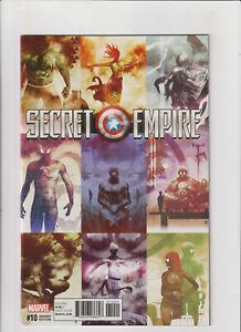 Secret Empire #10 NM- 9.2 Sorrentino Variant Marvel Hydra Captain America