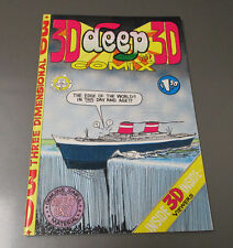 1970 DEEP 3D COMIX #1 FVF w/ Original Glasses Don Glassford 7th