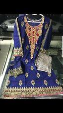 Designer Replica Stitched Embroidered Lawn Indian Pakistani Salwar Kameez Suit