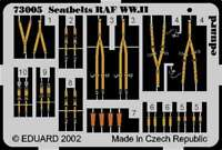Eduard Photoetch 1:72 - Seatbelts RAF WWII - EDP73005 8591437730056