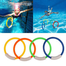 UNDERWATER DIVE RINGS SWIMMING DIVING SINKING POOL TOY GAMES FUN CHILDRENS NEW
