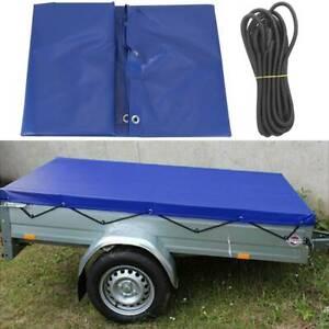 Anhänger Flachplane für Stema Baumarktanhänger 207*114*5 cm Plane Pkw-Anhänger