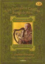 COMPLETE CAROLAN SONGS & AIRS Rowsome Harp + CD