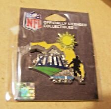 Super Bowl 43 XLIII logo player Florida lapel pin w/ date