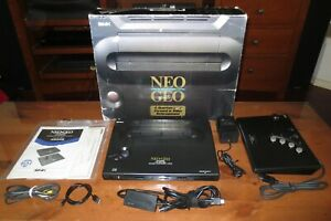 BOXED NEO GEO AES CONSOLE MATCHING SERIALS UNIBIOS 4.0 CONTROLLER UPGRADE HDMI