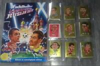 ZABIBUSKA 2018 World Cup RUSSIA  COMPLETE Stickers Set And Empty Album
