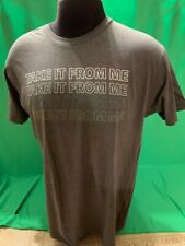 Jordan Davis Take it From Me Charcoal Gray T-Shirt Large