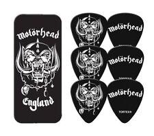 MOTORHEAD Guitar Picks 6 Pack Tin Box OFFICIAL MERCHANDISE