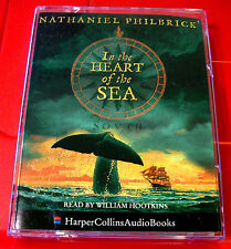 Nathaniel Philbrick In..Heart Of The Sea 2-Tape Audio William Hootkins Moby Dick