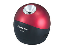 Panasonic Pinpoint Desktop Battery-Operated Pencil Sharpener,Black/Red(KP-006AB)