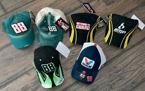 Dale Earnhardt Jr. Lot of 6 NOS Hats