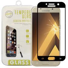 Pellicola vetro temprato Anti-rotti fibra di carbonio per Samsung Galassia A5