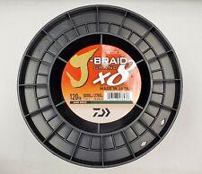 Daiwa J-Braid x8 GRAND Braided Line DARK GREEN 15lb 3000yd JBGD8U15-3000DG