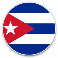 2 x Vinyl Stickers 7.5cm - Cool Cuba Caribbean Havana Cool Gift #9159