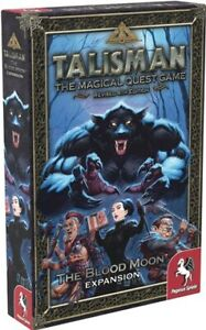 Talisman Board Game 4th Edition: The Blood Moon Expansion