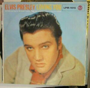Elvis Presley Loving You RCA LPM 1515 Germany 1957
