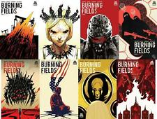 Burning Fields #1-8 Complete Set