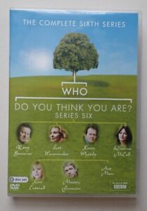Who Do You Think You Are ? Series Six -  Sixth - 6 - DVD