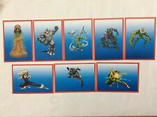 8 FIGURINE ADESIVE SPIDER-SENSE NEMICI SPIDER-MAN  PANINI MARVEL lot 52