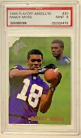 1998 Playoff Absolute #40 Randy Moss RC PSA 9 Rookie