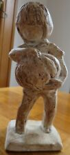 Austin Products Sculpture - Boy with Pumpkin ~ Dated 1979 Fall