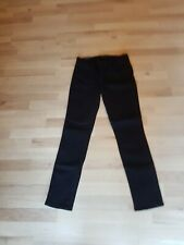 J BRAND Women's Mid Rise Skinny Leg Black Denim Jeans Sz 29 BNWT Defective 001