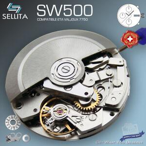MOVEMENT SELLITA SW500, AUTOMATIC CHRONOGRAPH - compatible ETA 7750