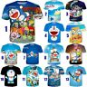 Hot Sale Women Men T-Shirt 3D Print Cartoon Anime Doraemon Short Sleeve Tee Tops