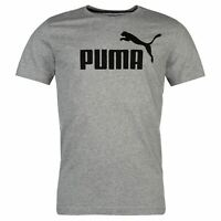 Puma Mens No 1 Logo T Shirt Crew Neck Tee Top Short Sleeve Cotton Print