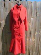 DRESS V FASHION RED COAT.JUNIORS SIZE L/womens size S