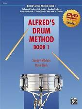 NEW Alfred's Drum Method, Book 1 (Book & DVD) by Dave Black