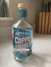 Empty Adnams Copper House Gin Bottle 70cl
