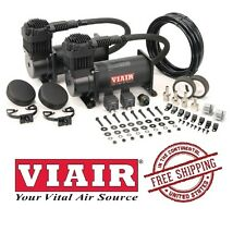 VIAIR 150PSI 4.55CFM 400C Dual Performance Value Pack 40048 Stealth Black