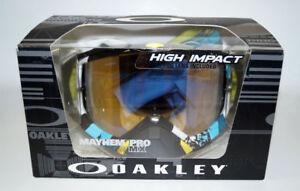 OAKLEY Ski Glasses Mayhem Pro Legacy OO 7051 05 705105 Blue 24K Iridium