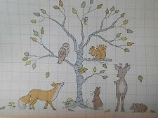Kalender 2015,Creation Point de Croix,Belle&Boo,12 Motive,Mädchen,Hase,Baum,Dmc