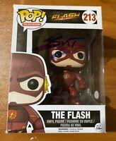 Grant Gustin Signed The Flash TV Show 213 Funko Pop - JSA NN49055