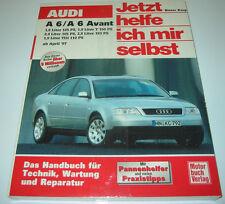 Reparaturanleitung Audi A6 / A6 Avant Typ C5 Benzin Turbo Diesel TDI ab 1997 NEU